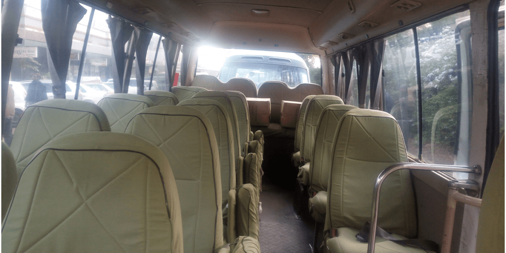 How many hours from Nairobi to Arusha by bus